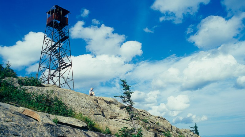 Hurricane Mountain Fire Tower, Adirondack State Park NY